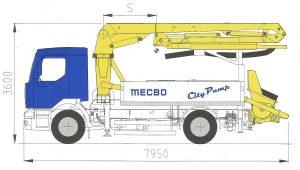 Автобетононасос MECBO AUT M18
