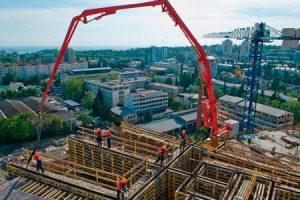 Аренда бетоно-распределительной стрелы